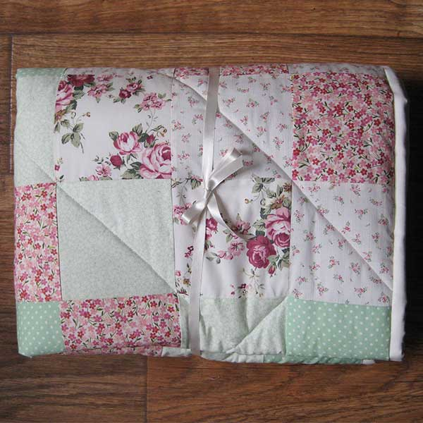 Personalised Ditsy Quilt