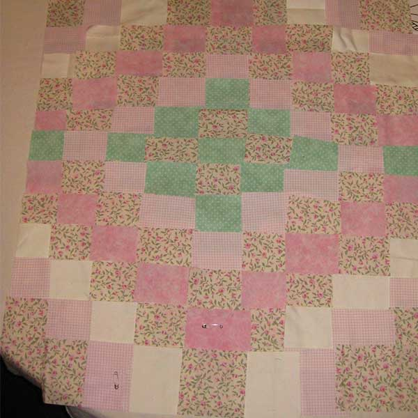 Ditsy Pink Quilt