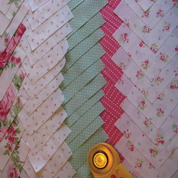 Floral Mini Prints Quilt