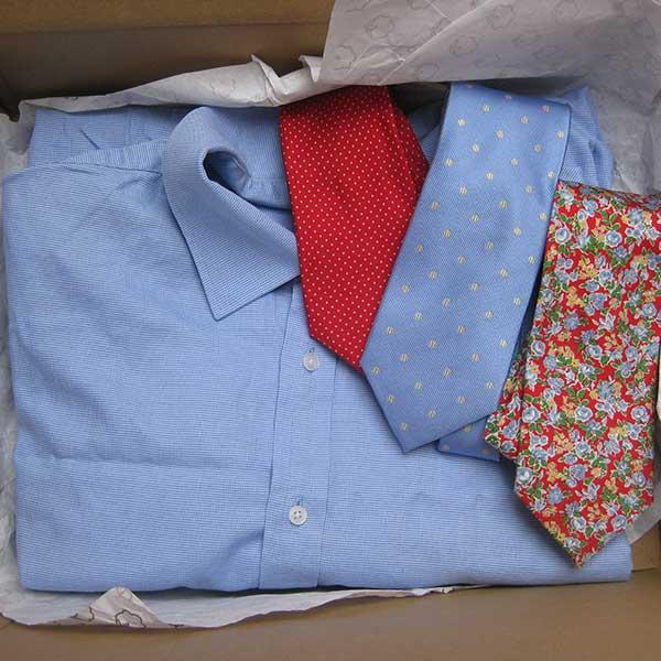 Shirt & Tie Cushion