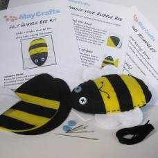 Make your own bumble bee  - felt craft kit