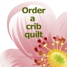 Custom-made Crib Quilt