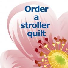 Custom-made Stroller Quilt