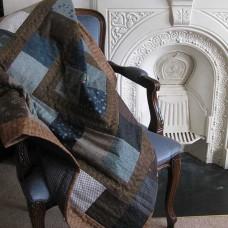 Hollyhock Cottage Quilt (Lap)  or Playmat